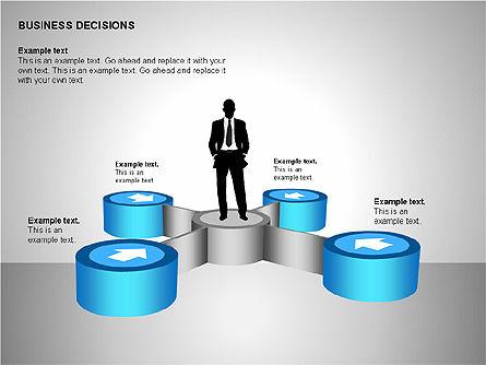 Business Decisions Diagrams, Slide 14, 00197, Business Models — PoweredTemplate.com