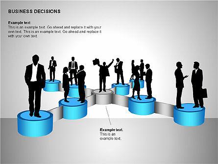 Business Decisions Diagrams, Slide 15, 00197, Business Models — PoweredTemplate.com