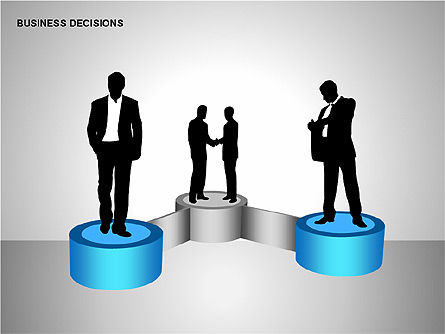 Business Decisions Diagrams, Slide 2, 00197, Business Models — PoweredTemplate.com