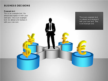 Business Decisions Diagrams, Slide 5, 00197, Business Models — PoweredTemplate.com