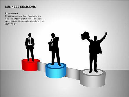 Business Decisions Diagrams, Slide 7, 00197, Business Models — PoweredTemplate.com