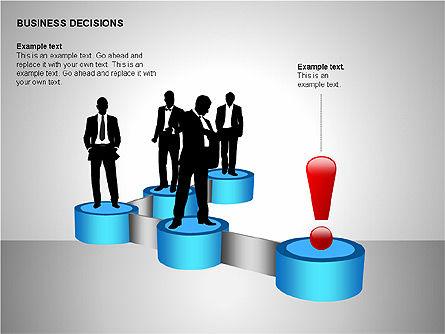 Business Decisions Diagrams, Slide 8, 00197, Business Models — PoweredTemplate.com