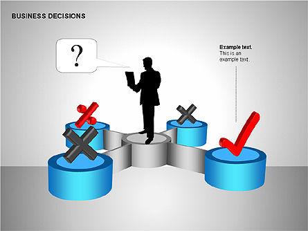 Business Decisions Diagrams, Slide 9, 00197, Business Models — PoweredTemplate.com
