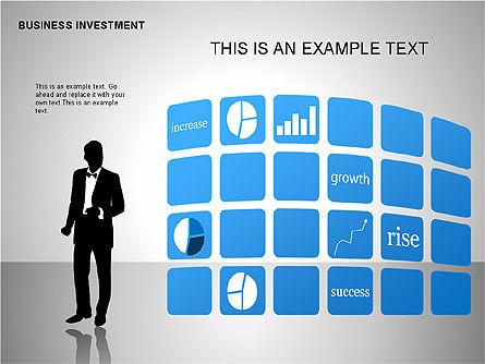 Business Investing Diagrams, Slide 12, 00198, Business Models — PoweredTemplate.com