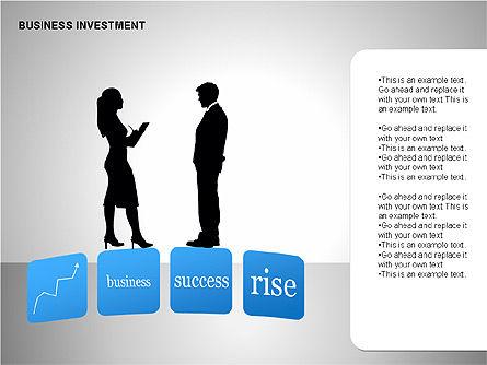 Business Investing Diagrams, Slide 15, 00198, Business Models — PoweredTemplate.com