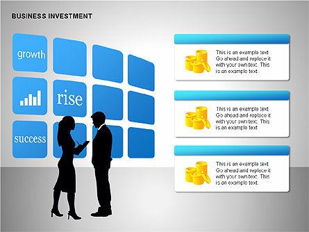 Business Investing Diagrams, Slide 6, 00198, Business Models — PoweredTemplate.com