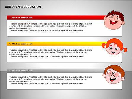 Children Education, Slide 11, 00199, Shapes — PoweredTemplate.com