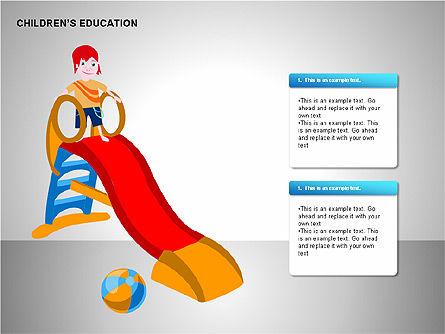 Children Education, Slide 13, 00199, Shapes — PoweredTemplate.com