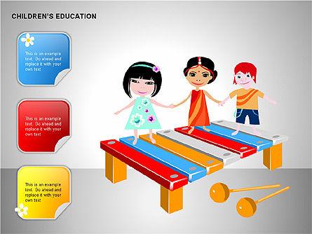 Children Education, Slide 14, 00199, Shapes — PoweredTemplate.com