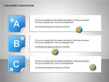 Children Education, Slide 8, 00199, Shapes — PoweredTemplate.com