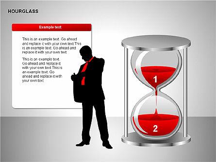 Hourglass Charts, Slide 12, 00201, Business Models — PoweredTemplate.com
