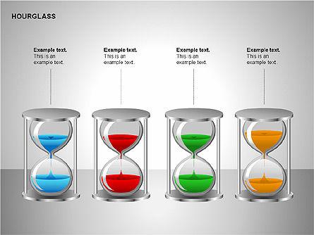 Hourglass Charts, Slide 15, 00201, Business Models — PoweredTemplate.com