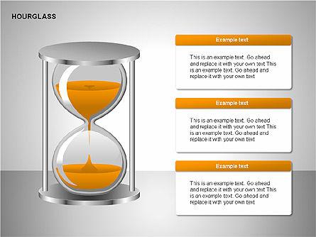 Hourglass Charts, Slide 2, 00201, Business Models — PoweredTemplate.com