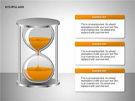 Hourglass Charts, Slide 3, 00201, Business Models — PoweredTemplate.com