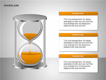 Hourglass Charts, Slide 4, 00201, Business Models — PoweredTemplate.com