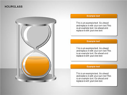 Hourglass Charts, Slide 5, 00201, Business Models — PoweredTemplate.com