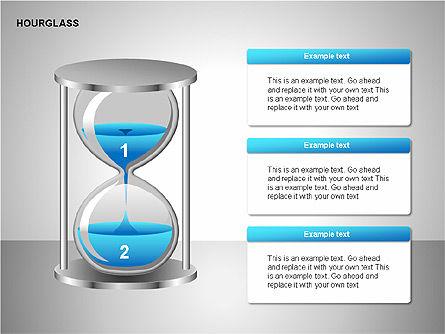 Hourglass Charts, Slide 7, 00201, Business Models — PoweredTemplate.com