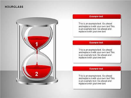 Hourglass Charts, Slide 8, 00201, Business Models — PoweredTemplate.com