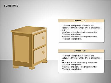 Furniture Shapes Collection, Slide 10, 00202, Shapes — PoweredTemplate.com