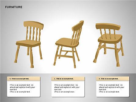 Furniture Shapes Collection, Slide 4, 00202, Shapes — PoweredTemplate.com