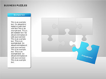 Puzzle Diagrams, Slide 12, 00205, Puzzle Diagrams — PoweredTemplate.com