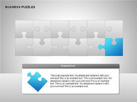 Puzzle Diagrams, Slide 7, 00205, Puzzle Diagrams — PoweredTemplate.com