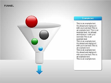 Funnel Diagrams, Slide 10, 00209, Stage Diagrams — PoweredTemplate.com