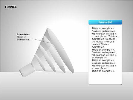 Funnel Diagrams, Slide 13, 00209, Stage Diagrams — PoweredTemplate.com