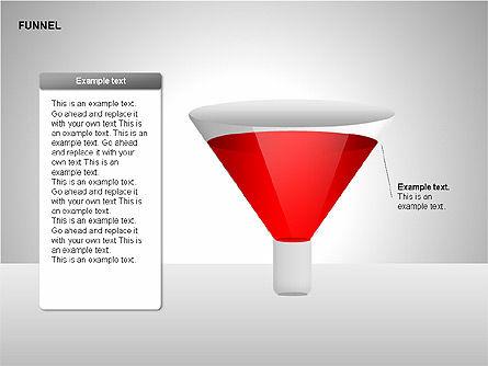Funnel Diagrams, Slide 7, 00209, Stage Diagrams — PoweredTemplate.com
