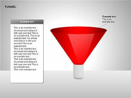 Funnel Diagrams, Slide 8, 00209, Stage Diagrams — PoweredTemplate.com