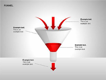Funnel Diagrams, Slide 9, 00209, Stage Diagrams — PoweredTemplate.com