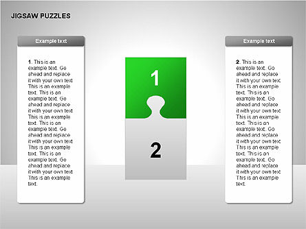 Puzzle Diagrams: Jigsaw Puzzles Diagrams #00211