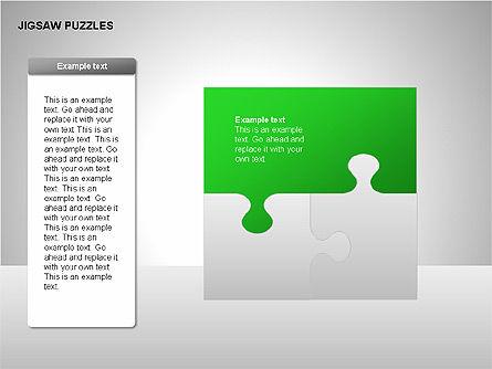 Jigsaw Puzzles Diagrams, Slide 17, 00211, Puzzle Diagrams — PoweredTemplate.com