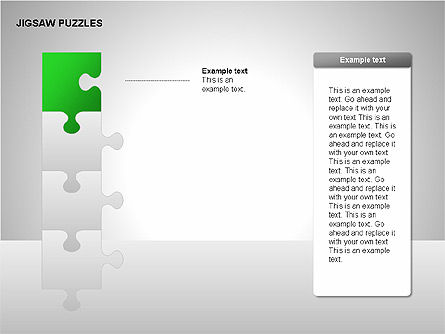 Jigsaw Puzzles Diagrams, Slide 4, 00211, Puzzle Diagrams — PoweredTemplate.com