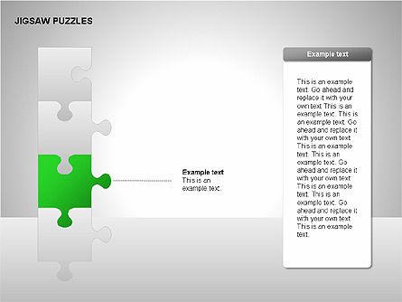 Jigsaw Puzzles Diagrams, Slide 6, 00211, Puzzle Diagrams — PoweredTemplate.com