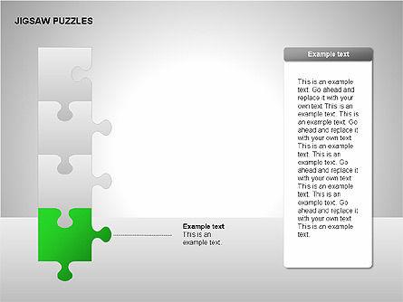 Jigsaw Puzzles Diagrams, Slide 7, 00211, Puzzle Diagrams — PoweredTemplate.com