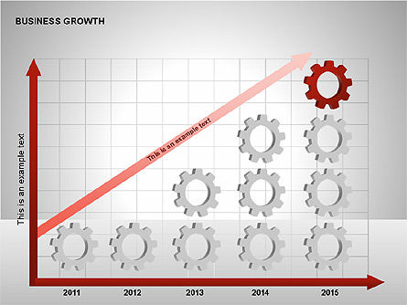 Business Results Growth Diagrams, Slide 10, 00212, Stage Diagrams — PoweredTemplate.com