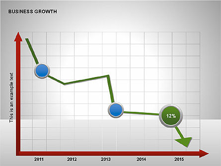 Business Results Growth Diagrams, Slide 14, 00212, Stage Diagrams — PoweredTemplate.com