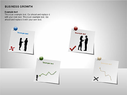 Business Results Growth Diagrams, Slide 2, 00212, Stage Diagrams — PoweredTemplate.com