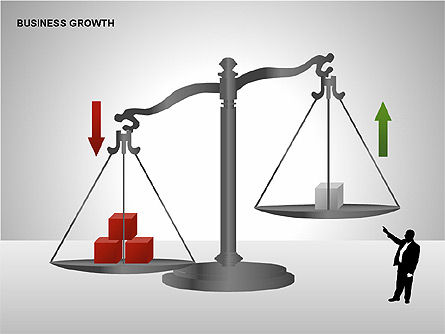 Business Results Growth Diagrams, Slide 6, 00212, Stage Diagrams — PoweredTemplate.com