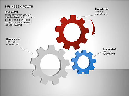 Business Results Growth Diagrams, Slide 7, 00212, Stage Diagrams — PoweredTemplate.com