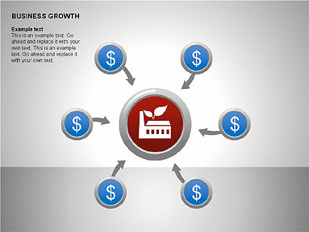 Business Results Growth Diagrams, Slide 8, 00212, Stage Diagrams — PoweredTemplate.com