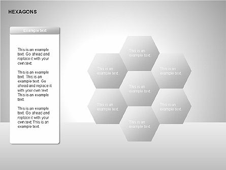 Hexagons Diagram Slide 2