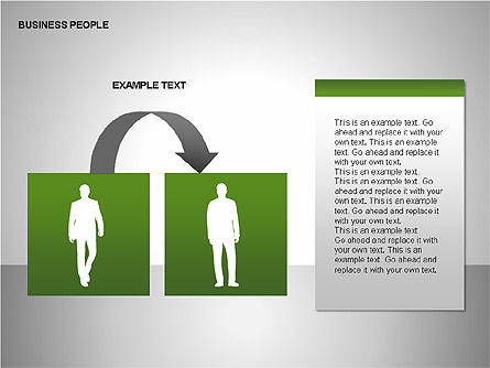 Business People Diagrams, Slide 10, 00221, Business Models — PoweredTemplate.com