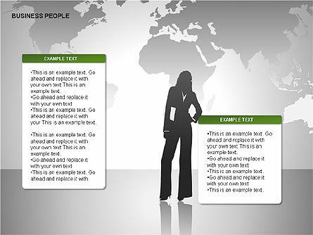 Business People Diagrams, Slide 11, 00221, Business Models — PoweredTemplate.com