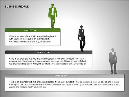 Business People Diagrams, Slide 12, 00221, Business Models — PoweredTemplate.com
