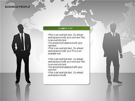 Business People Diagrams, Slide 13, 00221, Business Models — PoweredTemplate.com