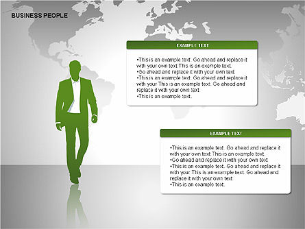 Business People Diagrams, Slide 9, 00221, Business Models — PoweredTemplate.com