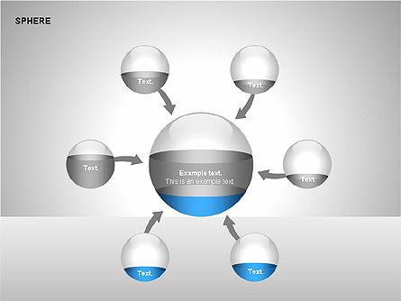 Sphere Diagrams, Slide 10, 00224, Stage Diagrams — PoweredTemplate.com