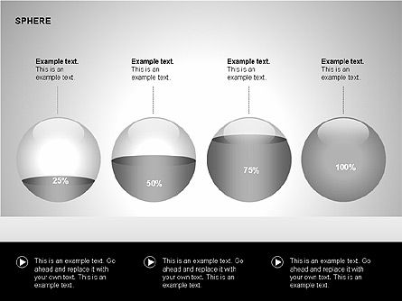 Sphere Diagrams, Slide 12, 00224, Stage Diagrams — PoweredTemplate.com
